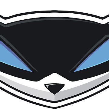 Smaller Sly Cooper logo by HannyFranco