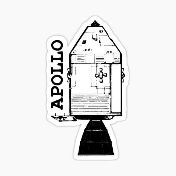 Apollo Command Service Module Sticker