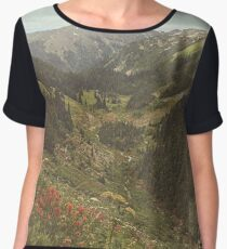 Go Camping Women's Chiffon Top
