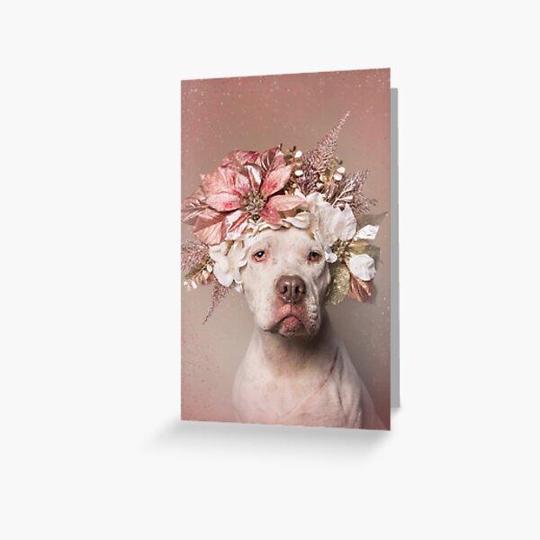 Flower Power, Minnie Greeting Card