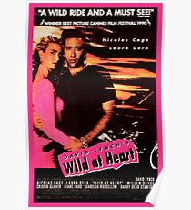 Wild at Heart - Nicholas Cage & Laura Dern POSTER Poster