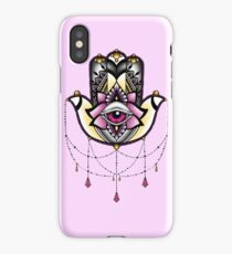 Pink Hamsa iPhone Case/Skin