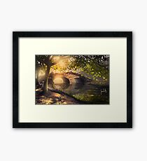 Stow Lake Framed Print