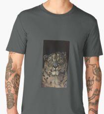 Snow leopard  Men's Premium T-Shirt