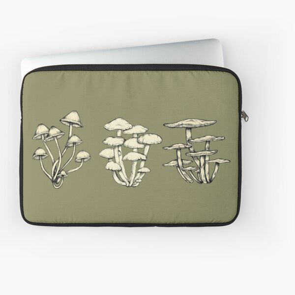 Assorted Fungi || Scientific Mycology Print Laptop Sleeve