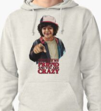 Stranger Things Crazy Friends Pullover Hoodie