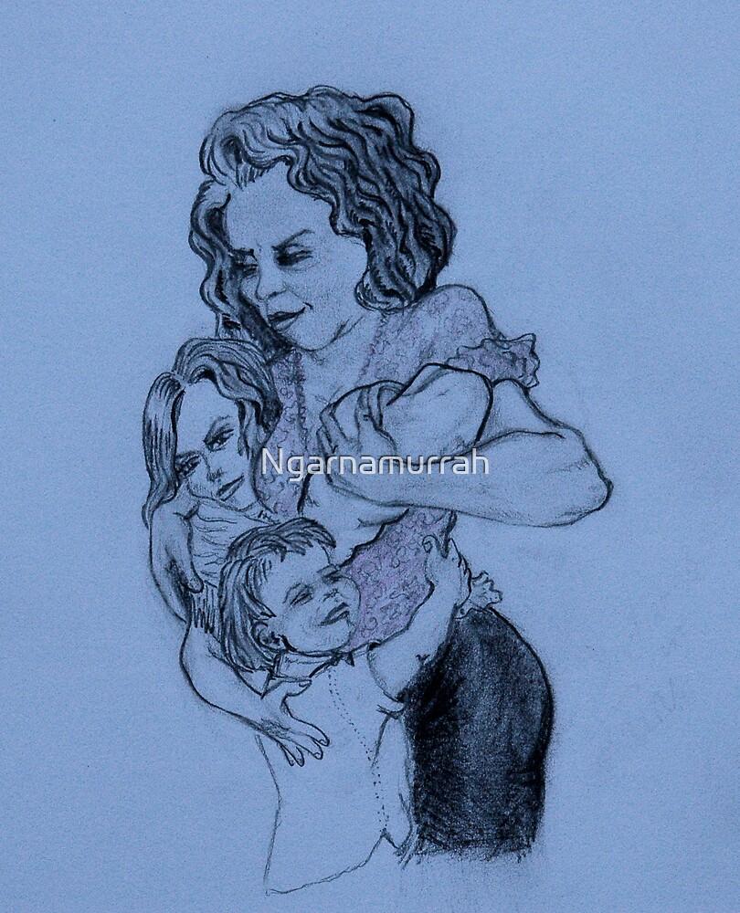 Loving mother by Ngarnamurrah