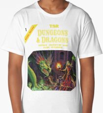 Dungeons and Dragons Basic Rulebook (Remastered) Long T-Shirt