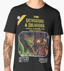 Dungeons and Dragons Basic Rulebook (Remastered) Men's Premium T-Shirt