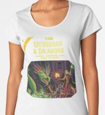 Dungeons and Dragons Basic Rulebook (Remastered) Women's Premium T-Shirt