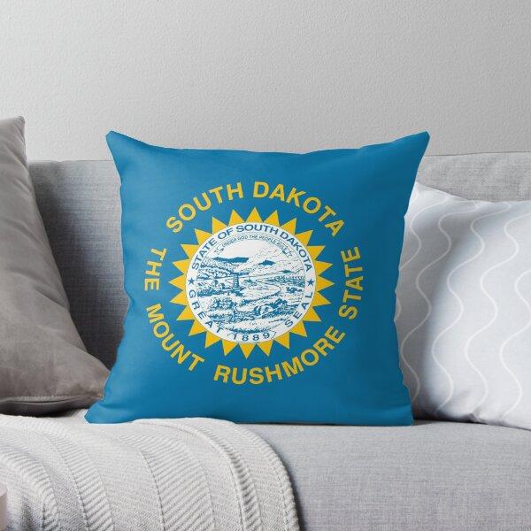 South Dakota Pillows Cushions Redbubble
