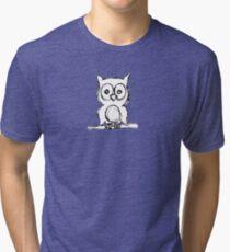 Little Owl Tri-blend T-Shirt