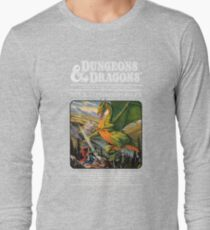 Dungeons and Dragons Companion Guide (Remastered) Long Sleeve T-Shirt