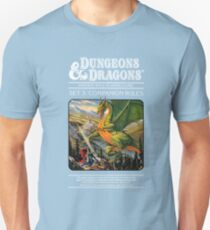 Dungeons and Dragons Companion Guide (Remastered) Unisex T-Shirt