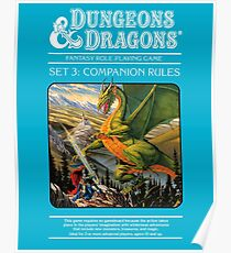 Dungeons and Dragons Companion Guide (Remastered) Poster