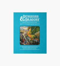 Dungeons and Dragons Companion Guide (Remastered) Art Board