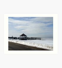 Watch Hill Winter 2015 bay Art Print