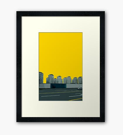 replaced Framed Print
