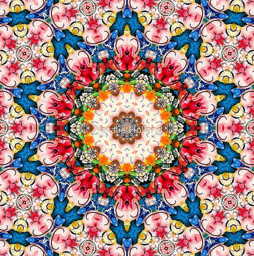 Loving Rose Mandala by Natalie Holland