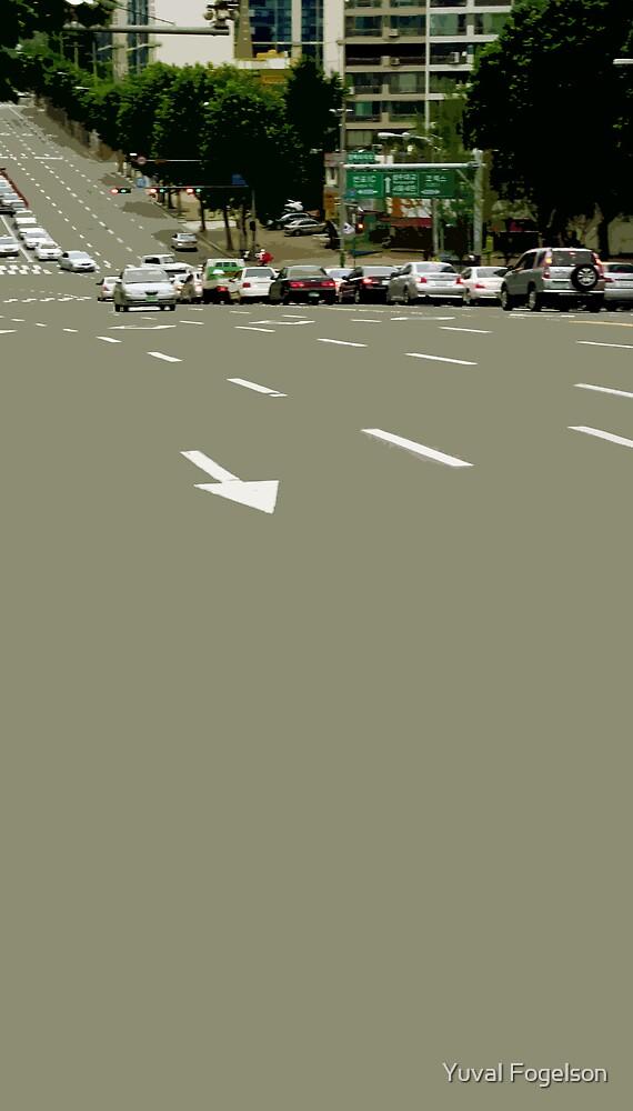 asphalt by Yuval Fogelson