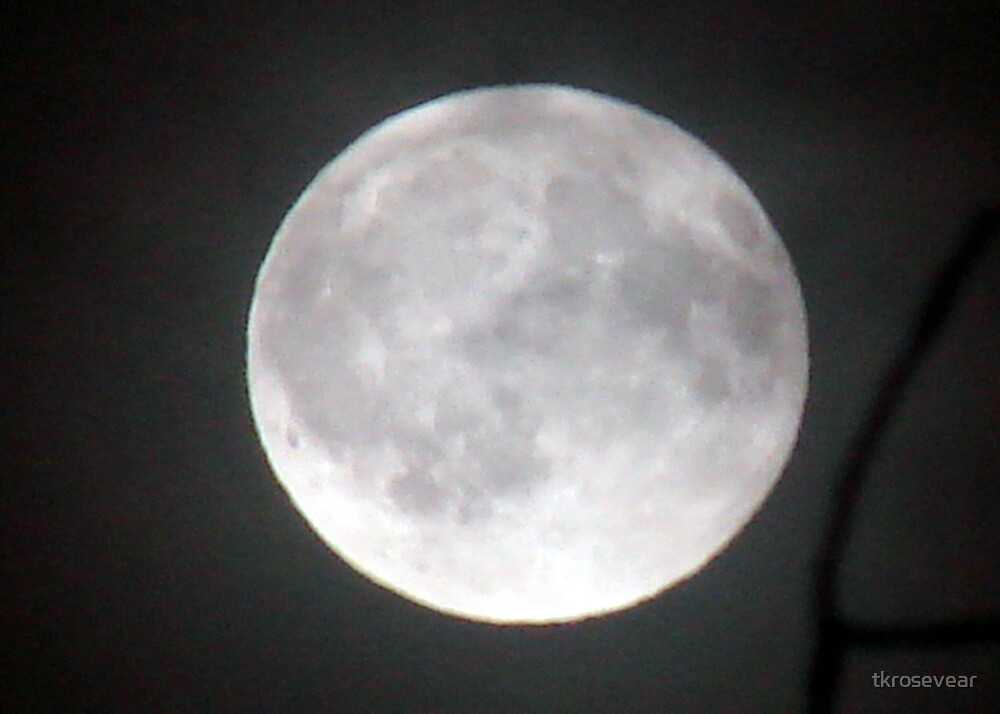 """October """"Blood"""" Moon by tkrosevear"""