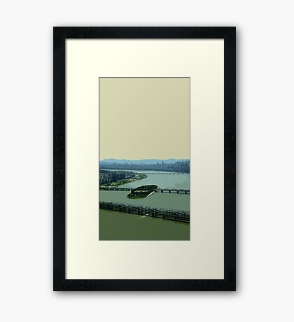 the river han Framed Print