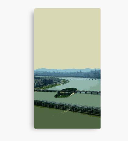 the river han Canvas Print