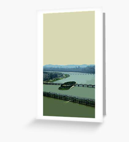 the river han Greeting Card