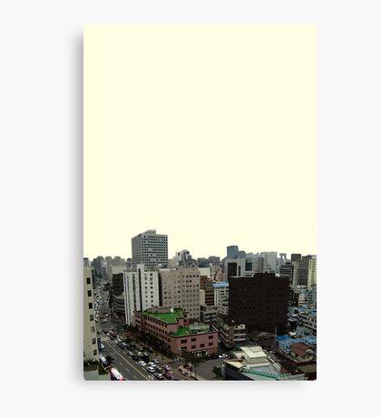 seoul view Canvas Print