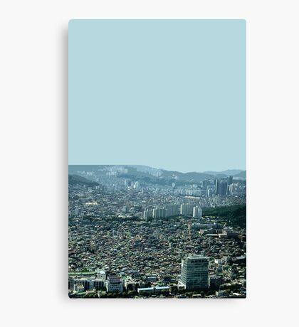 seoul flowing Canvas Print