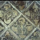 Wall Tiles St Remis Reims France 19840823 0064  by Fred Mitchell