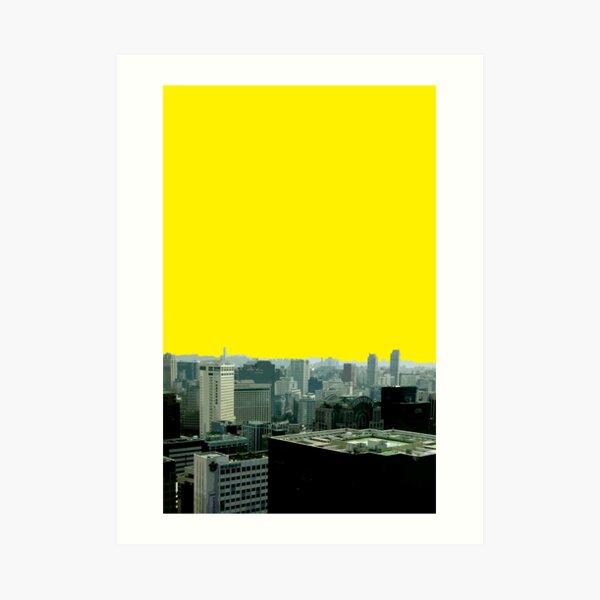 seoul view Art Print