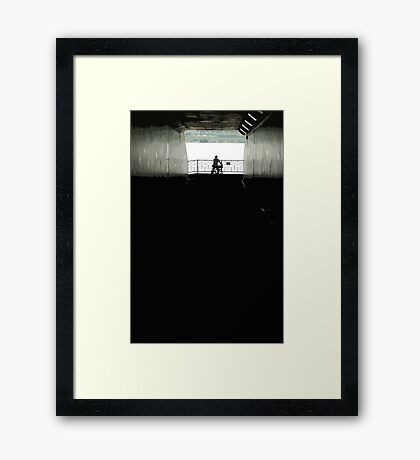 tunnelview Framed Print