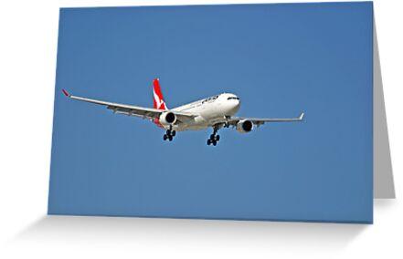 Qantas A320 Airbus  by EOS20