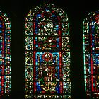 C11 or C12 Glass of saints St Remis, Reims France 19840823 0068 by Fred Mitchell