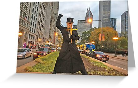 +Brother Nathanael in Chicago!//Michigan Ave & Chicago Inst of the Arts! by Albert