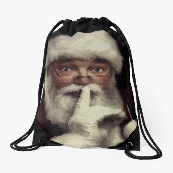 Saint Nick Drawstring Bag