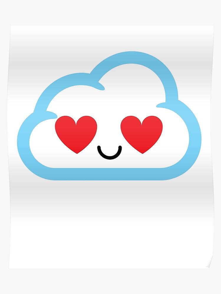 Cloud Emoji | Poster