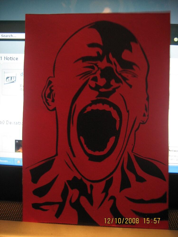 Scream by jaf0