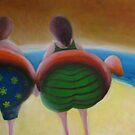 Duck's crossing by Glenn McLeary
