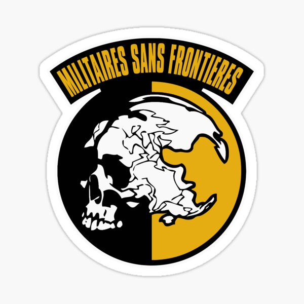 Militaires Sans Frontieres Sticker