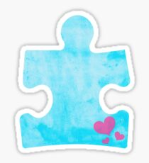 Autism Puzzle Piece- Proceeds go to BCCS Sticker