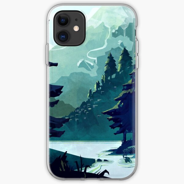 Canadian Mountain iPhone Soft Case