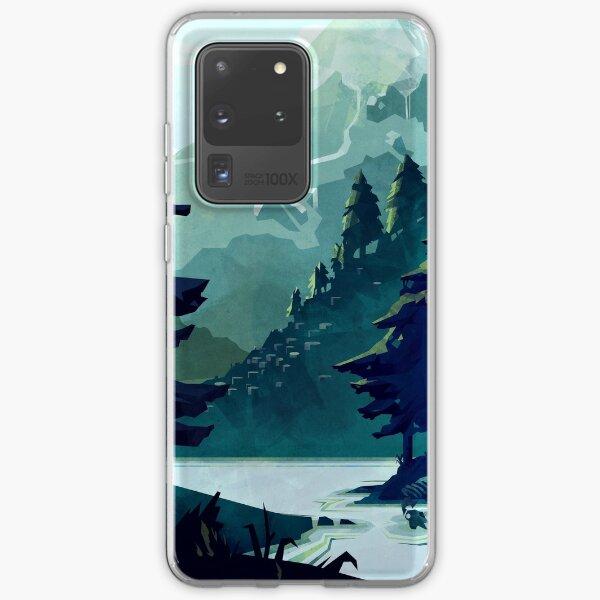les forêts Coque souple Samsung Galaxy