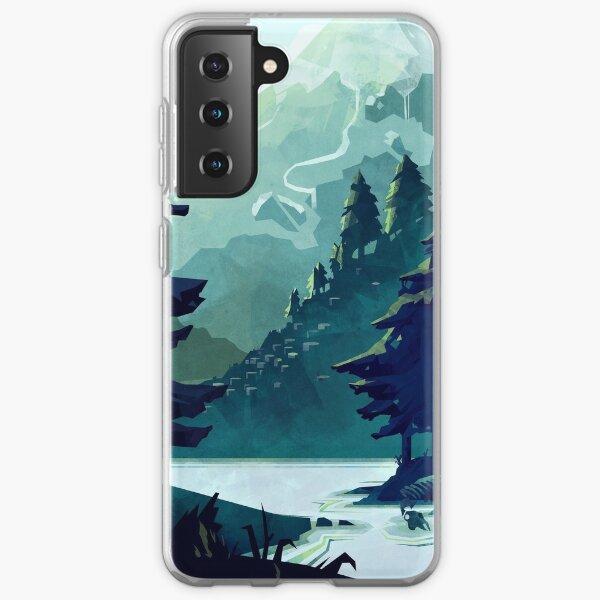 Canadian Mountain Samsung Galaxy Soft Case