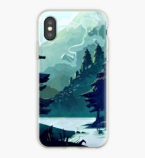 Canadian Mountain iPhone Case