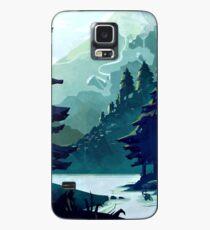 Kanadischer Berg Hülle & Klebefolie für Samsung Galaxy