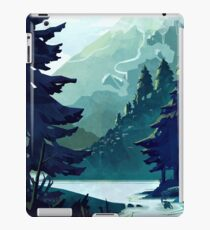 Canadian Mountain iPad Case/Skin