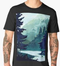 Canadian Mountain Men's Premium T-Shirt