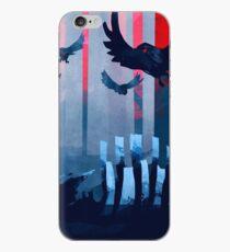 Blue Stone Landscape iPhone Case